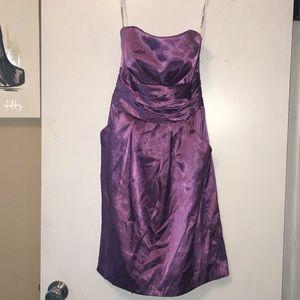 Davids Bridal lavender bridal/formal Dress